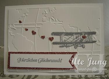 """Hochzeitskarte """"Hoch hinaus"""""""