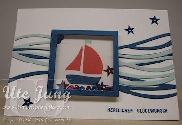 """Kinder-Schüttelkarte mit dem Stempelset """"Swirly Bird"""""""