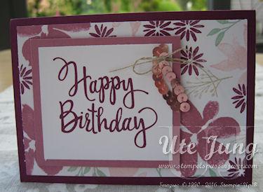 """""""Stylized Birthday"""" heißt der tolle Einzelstempel"""