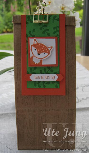 Geschenktüte Fuchs