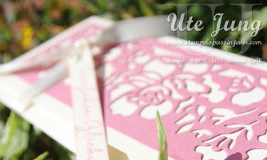 """Geschenkgutschein mit den Thinlits """"Florale Fantasie"""""""