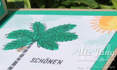 "Palme aus dem Stempelset ""Totally trees"""