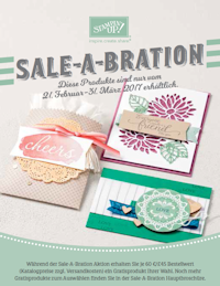 Sale-A-Bration 2017/2 bis: 31.03.2017