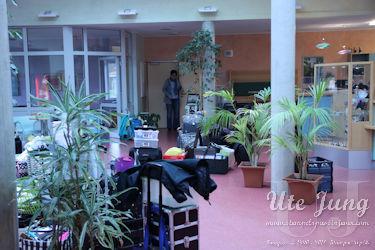 Ein Foyer mit vielen Bastelartikeln von Stampin' Up!