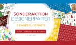 5. Sonderaktion Designerpapier vom 1. Oktober-31. Oktober!