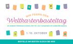 Weltkartenbasteltag. Gültig bis: 10.10.2017