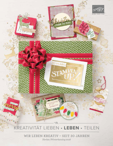 Stampin' Up! Herbst-/Winterkatalog 2018
