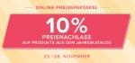 Online-Preisspektakel 23.-28. November 2018