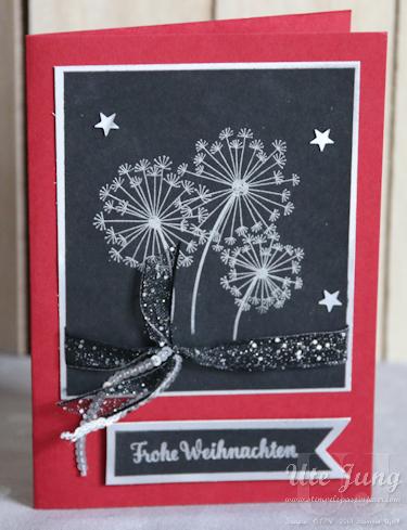 """Weihnachtskarte """"Dandelion Wishes"""""""