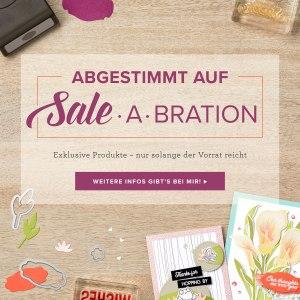 Neue Produkte, auf die Sale-A-Bration Artikel abgestimmt.