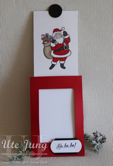 """Weihnachtsmann aus dem Stempelset """" Sack voller Grüße"""""""