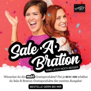 Die neuen Sale-A-Bration Produkte könnt Ihr mit einem Klick auf dieses Foto einsehen.