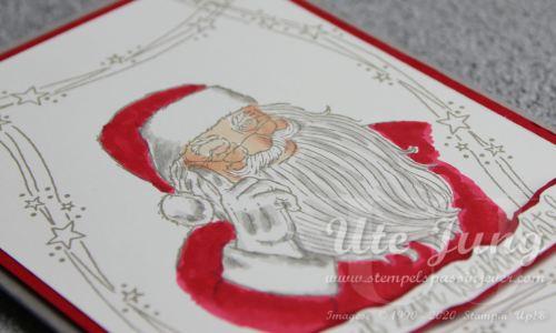 """Sternrahmen aus dem Stempelset """"Geschwungene Weihnachten"""""""