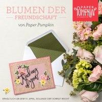 Paper Pumpkin Blumen der Freundschaft, erhältlich solange der Vorrat reicht