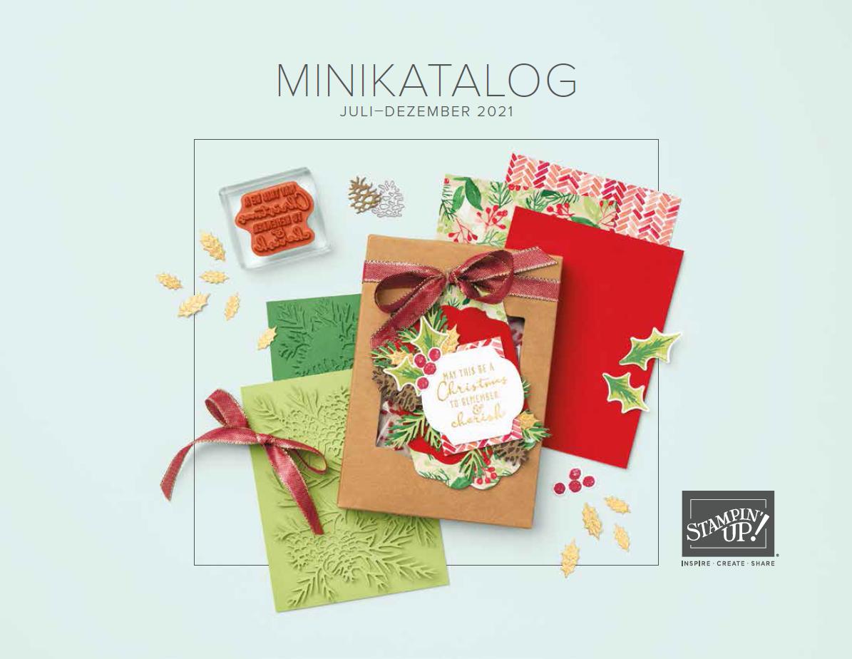 Stampin' Up! Minikatalog August-Dezember 2021